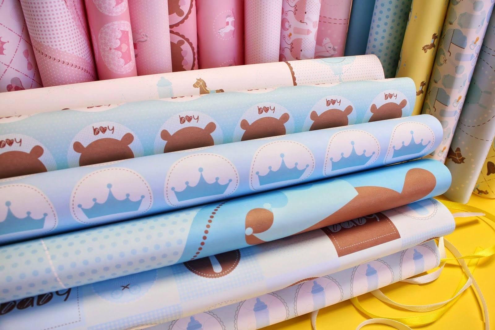 Papéis da coleção Bebê Menino ♥