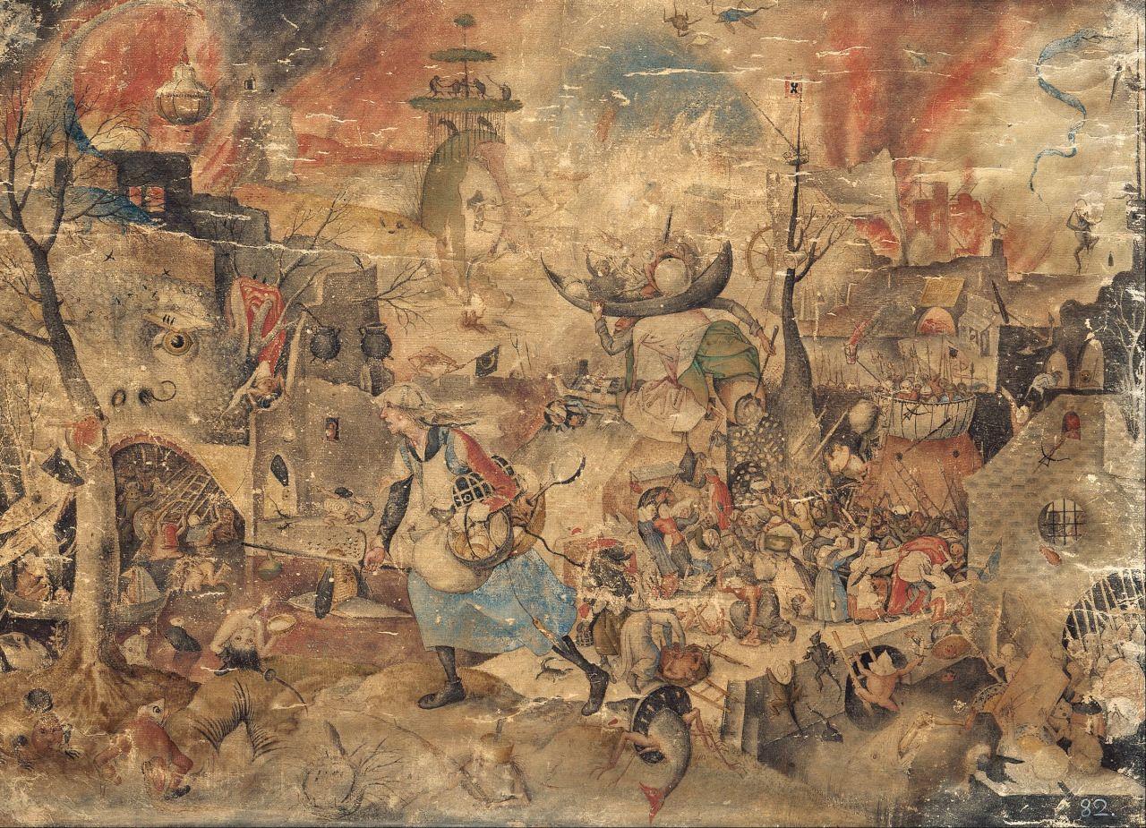 Pieter Bruegel The Elder Essay Proverbs 1559 Painting
