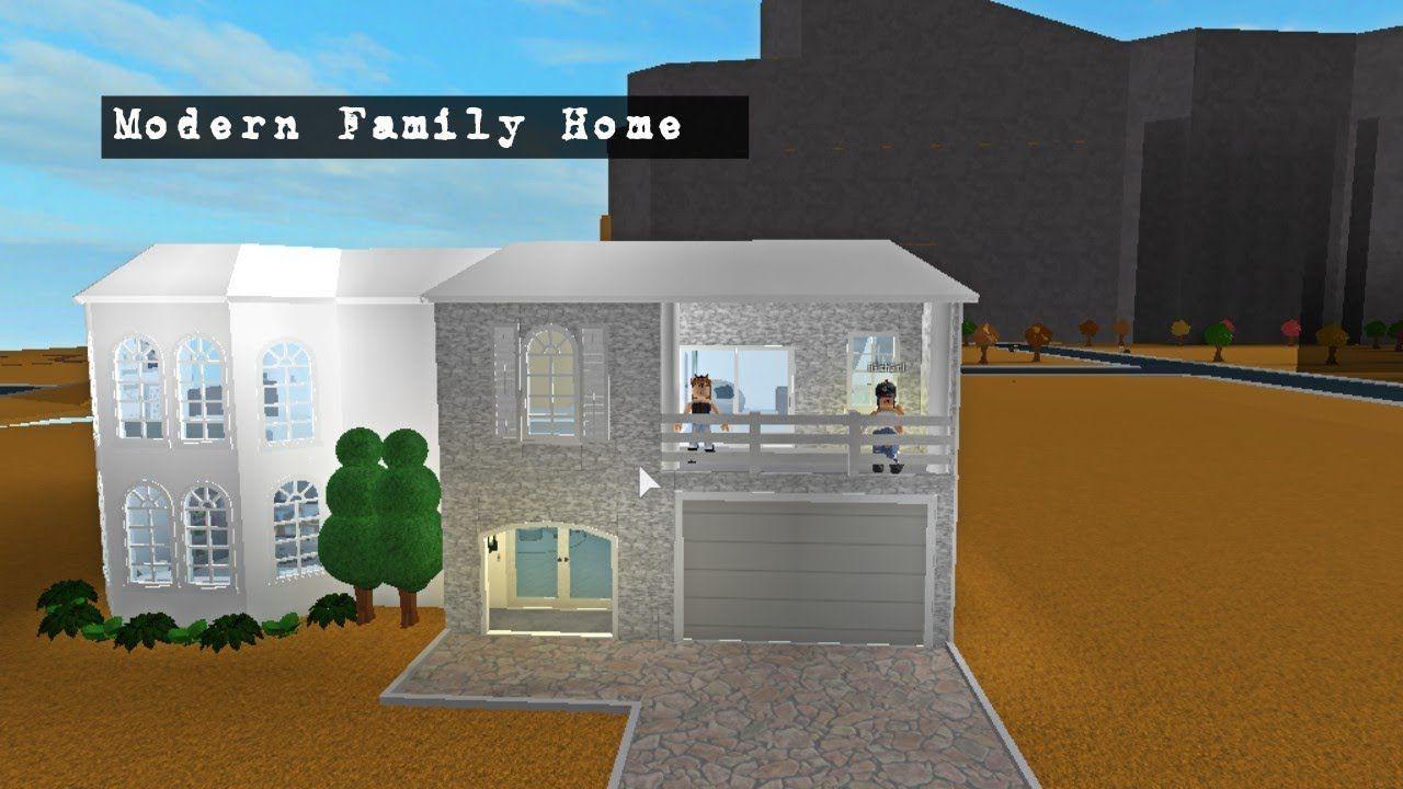 Modern Family Home Roblox Bloxburg