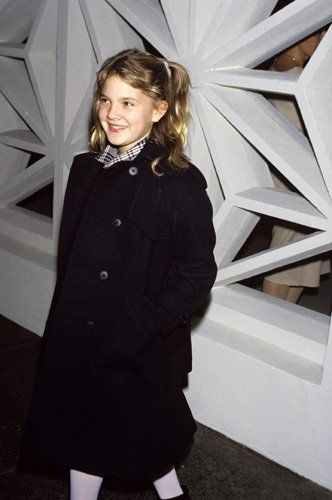 Drew Barrymore circa 1980s   Hollywood Ladies 35 and Over