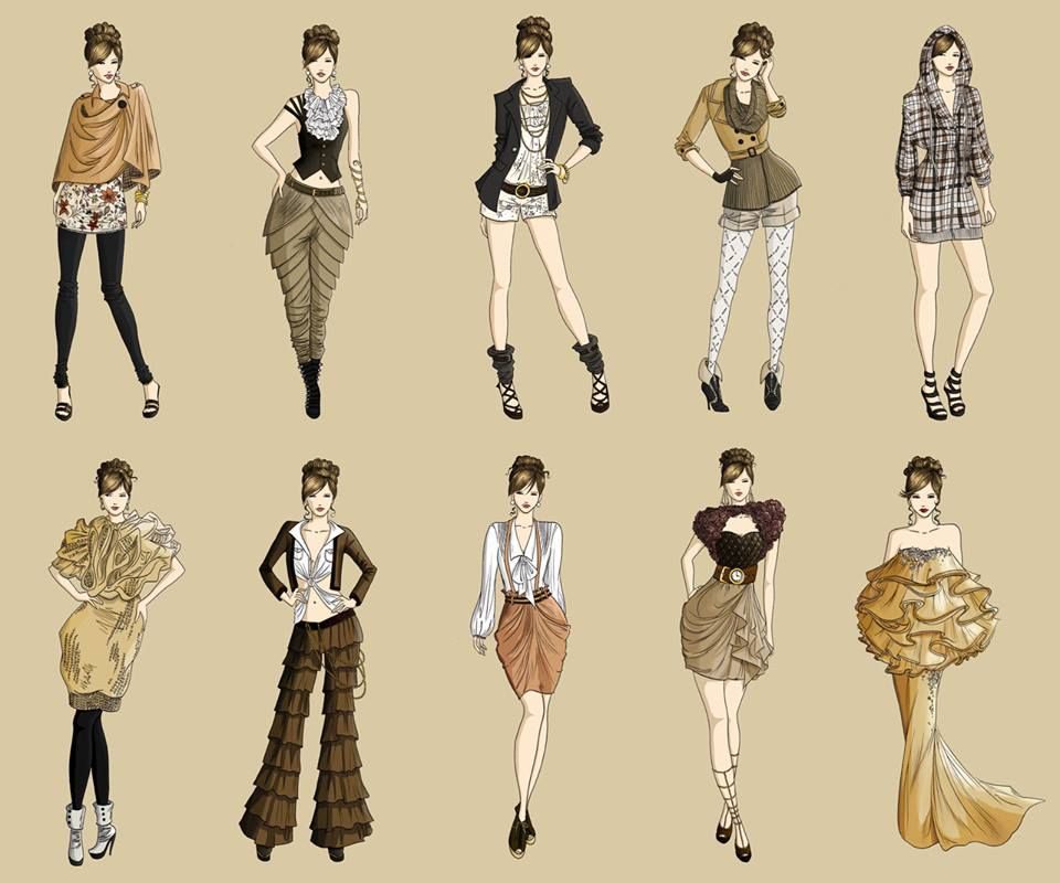 Fashion Is Not Something That Exists In Dresses Only Fashion Is In The Sky I Fashion Designing Course Bachelor Fashion Fashion Illustration Collage