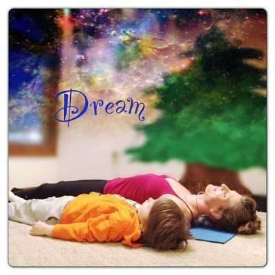 Dream.  Lay on the floor, close your eyes or gaze at the ceiling or look out a window and day dream.  #fitfluential #enjoy #yoga