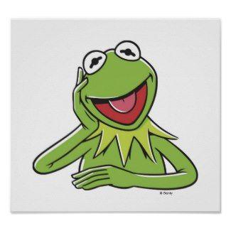 Muppets Clip Art | Horizontal Poster - Muppets - Kermit - 30.5 x 91.5cm