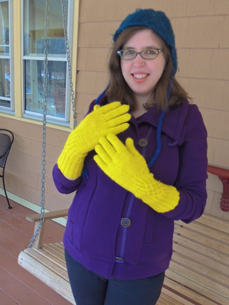 Have hit Girls wearing latex gloves