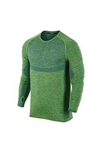 638817b84 NIKE Nike Dri-FIT Knit Men's Running Shirt, Black Heather, Large. #nike  #cloth #