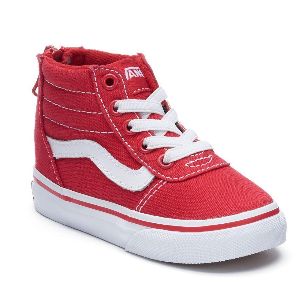 0fd09cd722 Vans Ward Zip Toddlers  High Top Sneakers