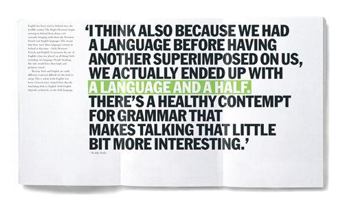 A Language And A Half