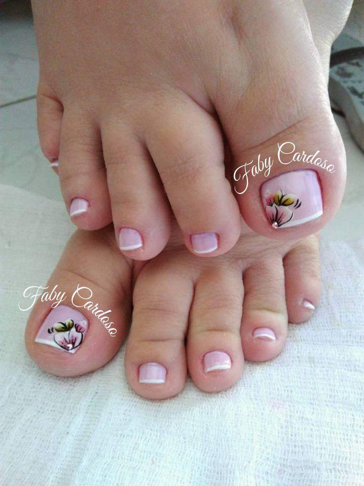 Unhas dos pés decoradas minha pasta Unhas do pé decoradas, Unhas do pé e Unhas decoradas -> Decoração De Unhas Do Pé