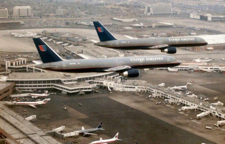 Fly over on last day - Stapleton International Airport, Denver CO.