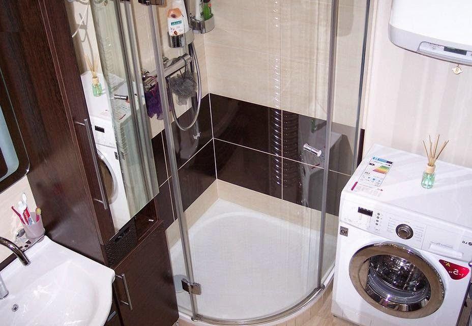 душевая кабина в маленькой ванной комнате фото Bath Bathroom