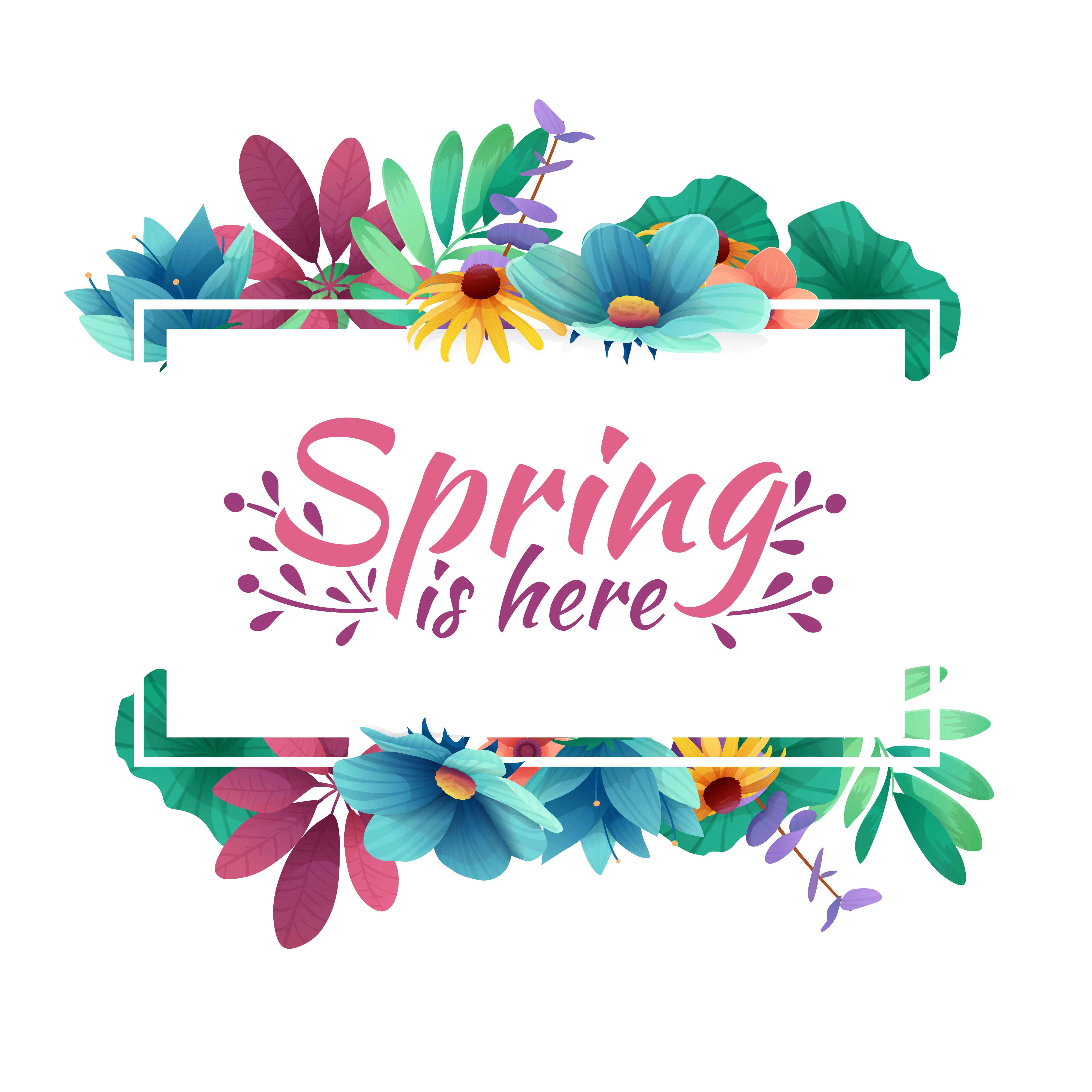 Spring Renewal | Diseño de pancartas, Disenos de unas ...