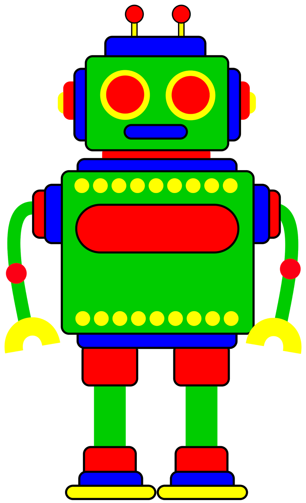 pin by virginia silva on pop plant people pinterest robot clip rh pinterest com robot clipart black and white robot clip art free