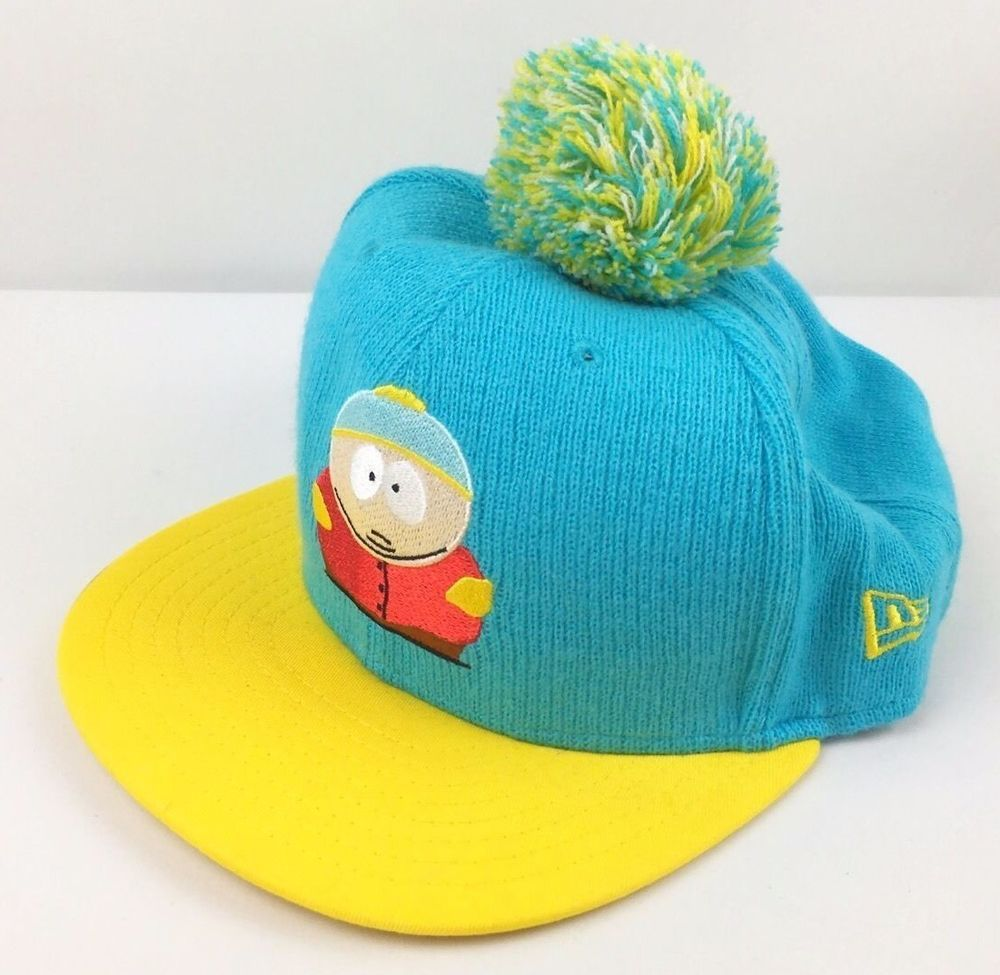 South Park Snapback Hat Eric Cartman Pom New Era 9Fifty Cap Cartoon TV  Unique  NewEra  BaseballCap 567dea48b9f