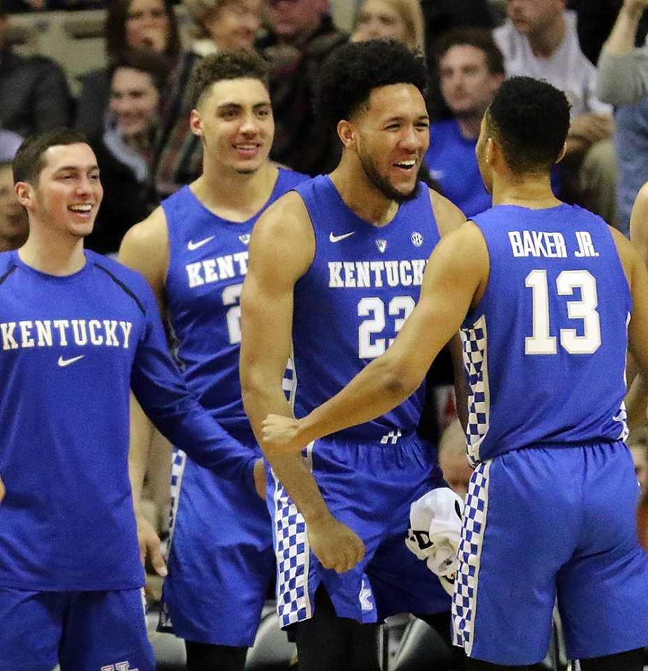 Kentucky defeats Vanderbilt 8752 Tuesday night in