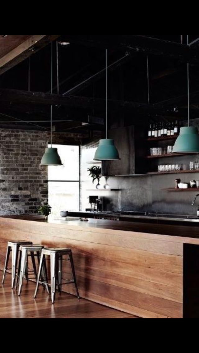 Discover 40 Examples Of Modern Kitchen Design Ideas Designbump Industrial Kitchen Design House Design Industrial House