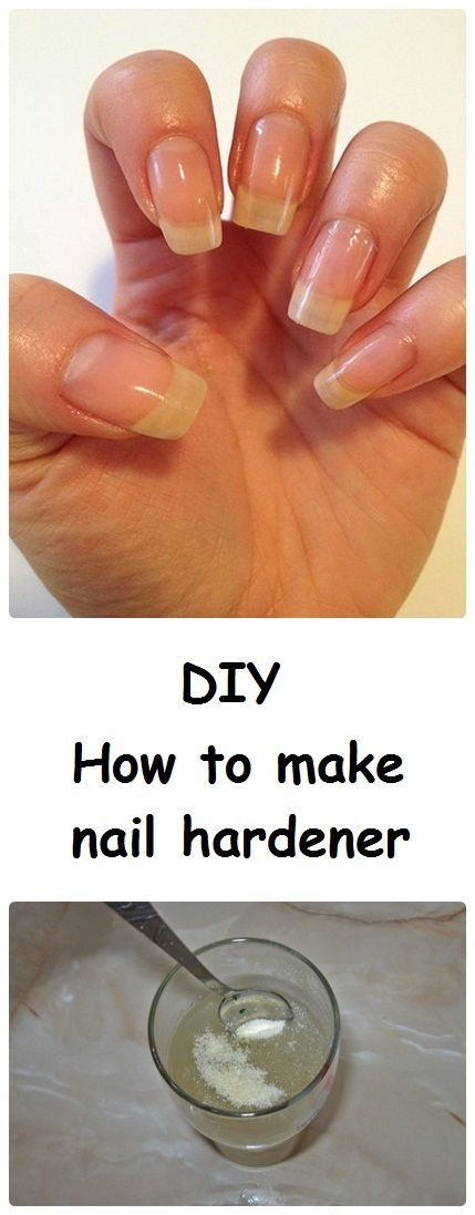 DIY Nail Strengthener for Strong, Healthy & Shiny Nails | Easy