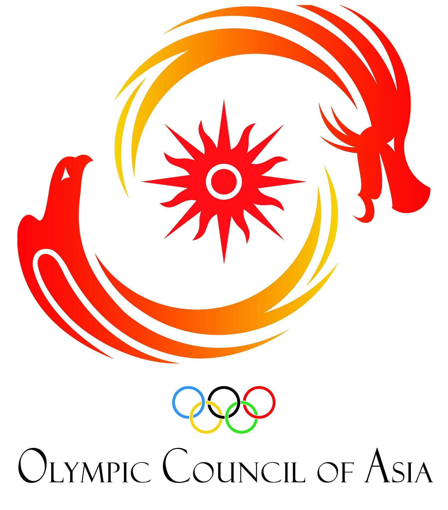Olympic Council Of Asia Oca Logo Ai File Ai Ai File Ai Format Ai Logo Asia Asya Olimpiyat Konseyi Consejo Olimpico De Asia Con Asia Olympics Logos