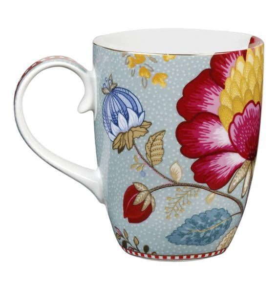 6095a0f2d2d PiP studio Mug groß Fantasy blau   Mugs   Vaisselle, Porcelaine und ...