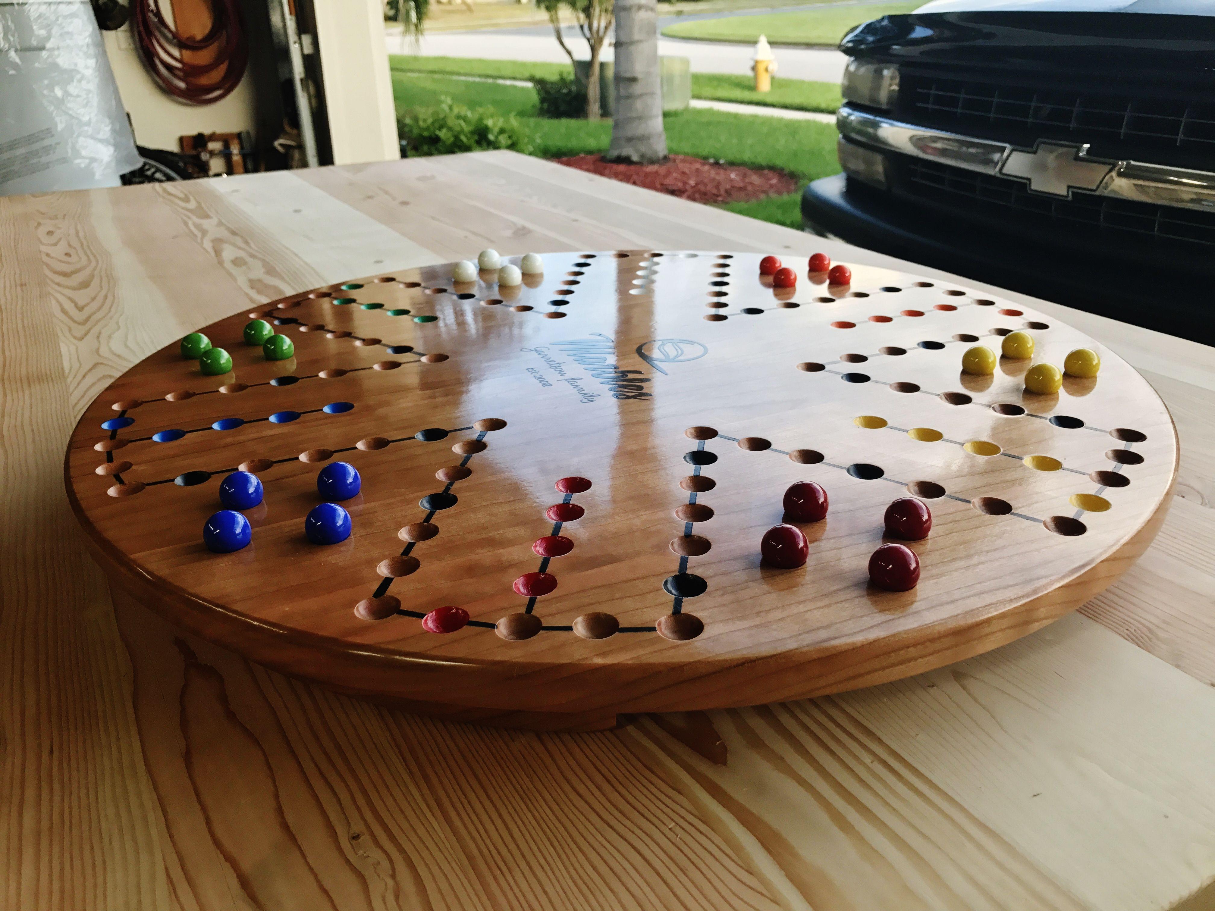 Aggravation board game board games diy homemade board