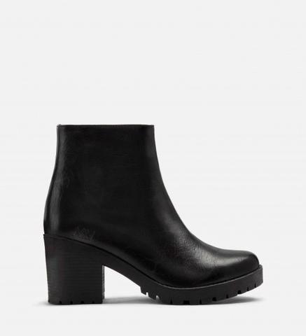 North Bootie In Black From Matt Nat Premium Vegan Leather Boots Vegan Gifts Vegan Leather Goods Cruelt Vegan Leather Shoes Women Shoes Boot Shoes Women