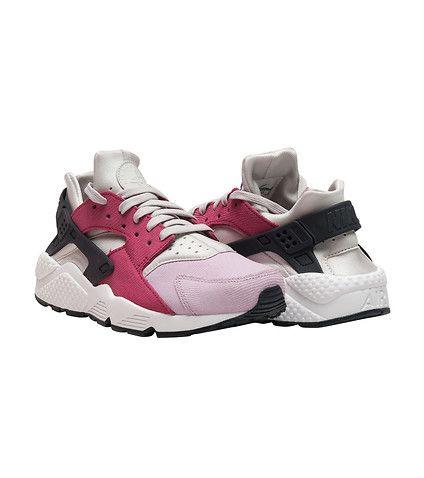 9ec284455d5a NIKE WOMENS AIR HUARACHE RUN PRM Medium Pink