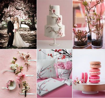 Cherry Blossom Wedding Theme It D Be Cooler As A Shower