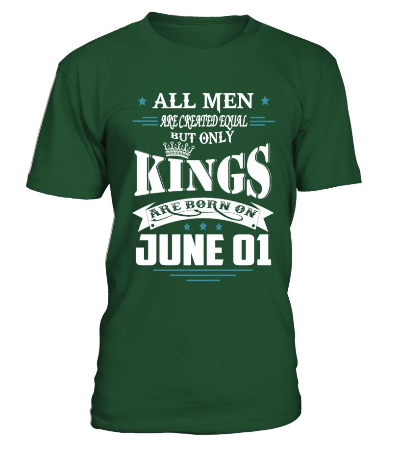 Kings are born on June 01  #gift #idea #shirt #image #funny #campingshirt #new
