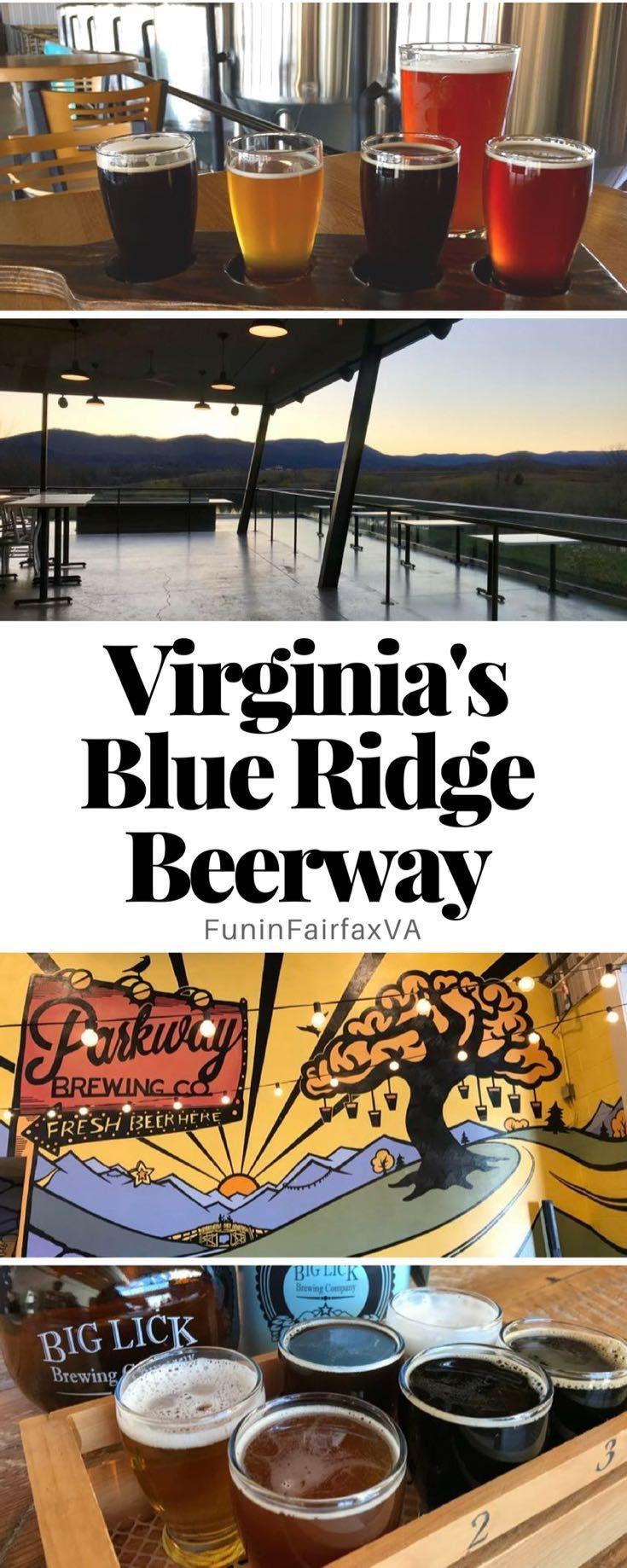 Virginia's Blue Ridge Beerway: Sampling Craft Beer In