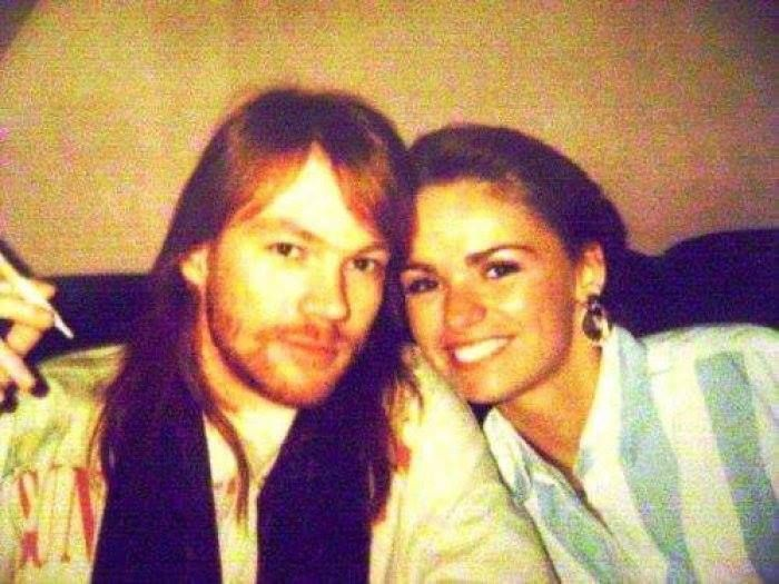 Axl And His Sister Amy Guns N Roses 3 In 2019 Axl Rose