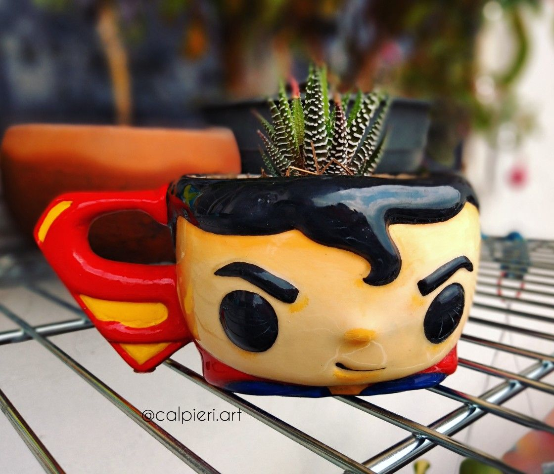 Superman pot t