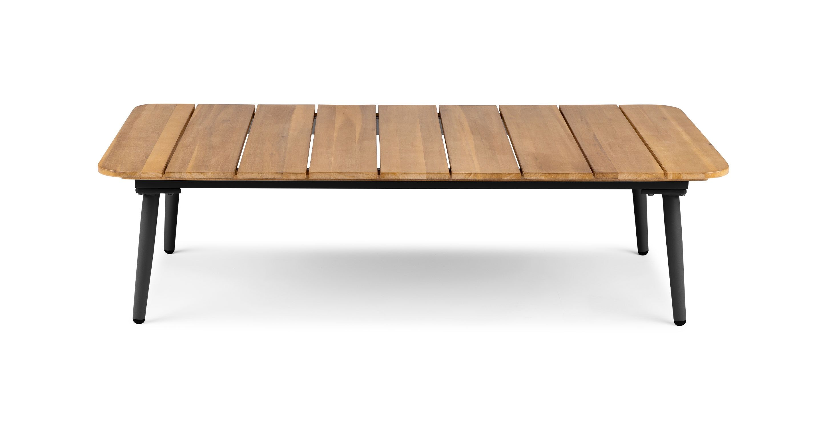 Latta Slate Gray Coffee Table Coffee Table Mid Century Modern Coffee Table Contemporary Outdoor Furniture [ 1500 x 2890 Pixel ]