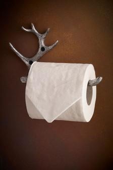 Next Antler Toilet Roll Holder Silver Toilet Roll Holder