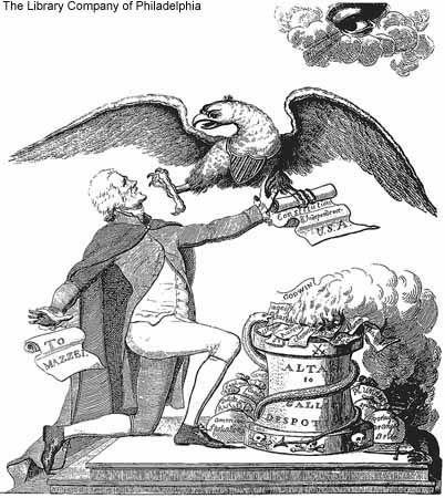 American politics 1790