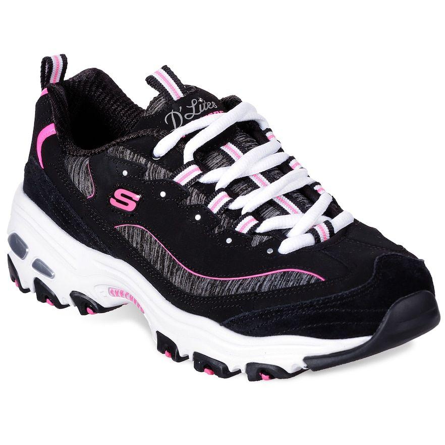 Skechers d lites, Womens sneakers, Skechers