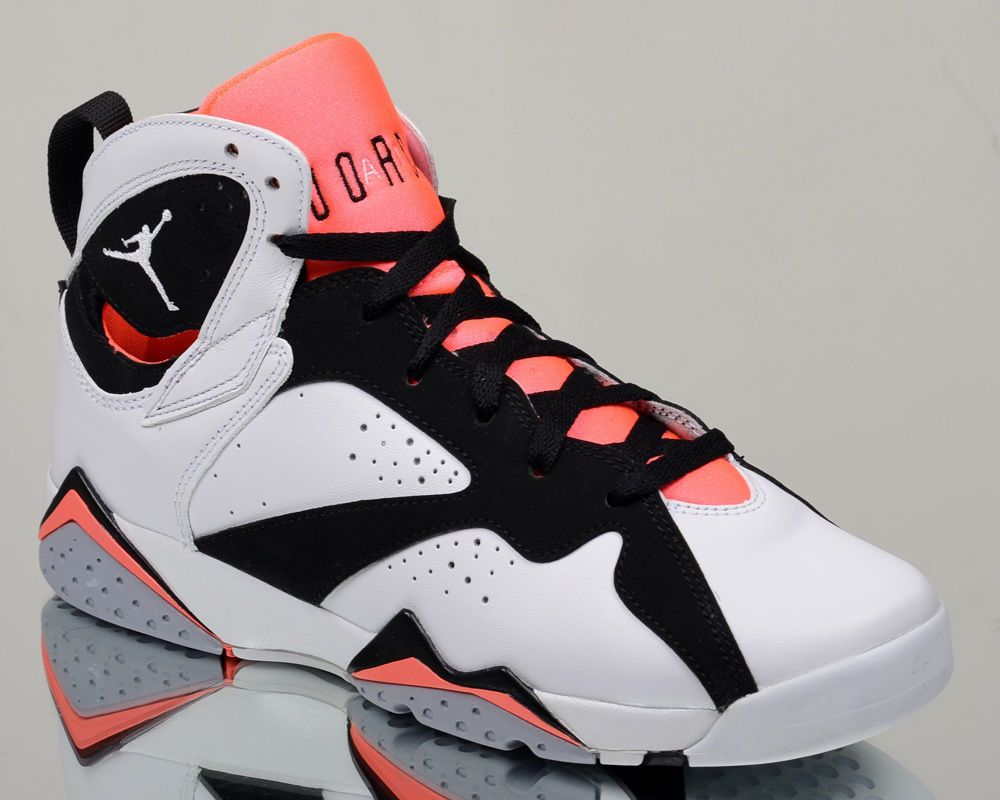 79a66e244a6 Air Jordan 7 VII Retro GG Hot Lava youth lifestyle casual sneakers NEW  white #Jordan