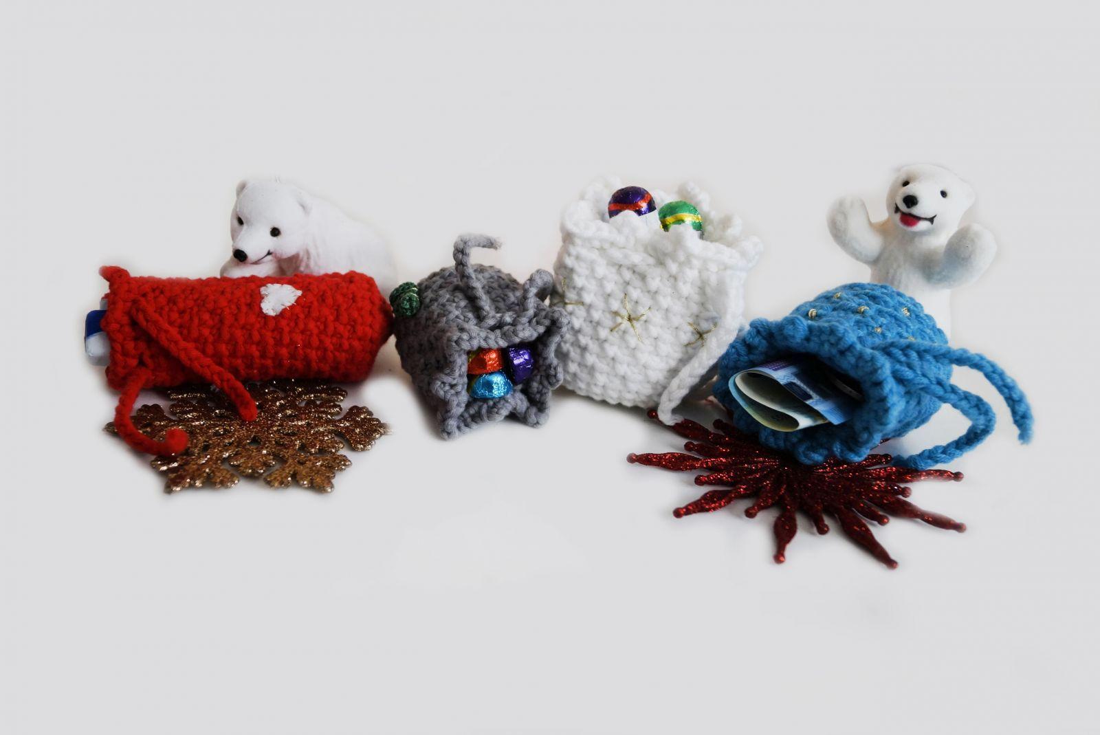 Säckchen Weihnachten Häkelnanleitung Kostenlos Häkeln