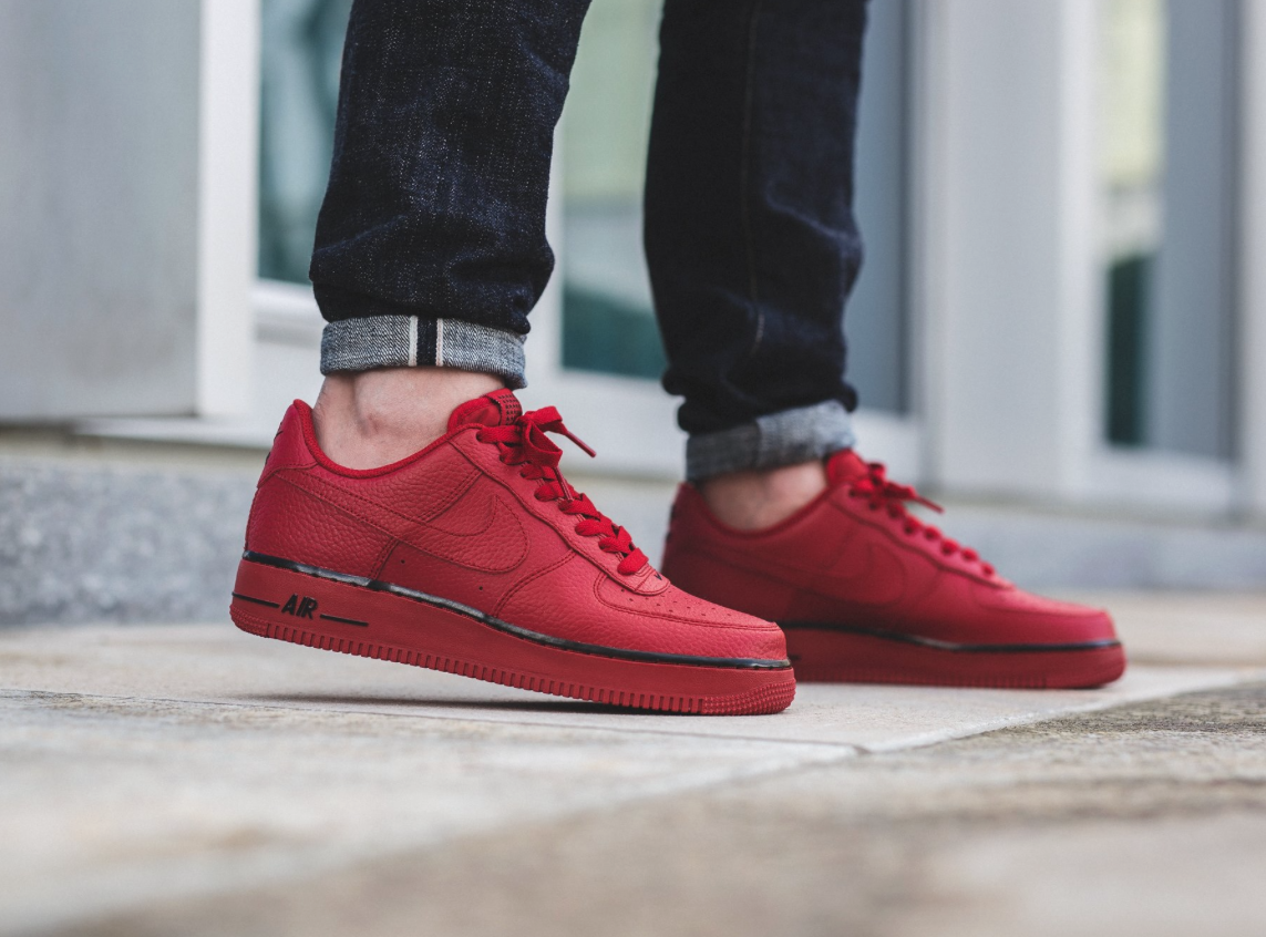 timeless design e5218 6d559 Nike Air Force 1 Low Gym Red    Nike  Airforce1  Sneakers  Kicks  Afrofresh