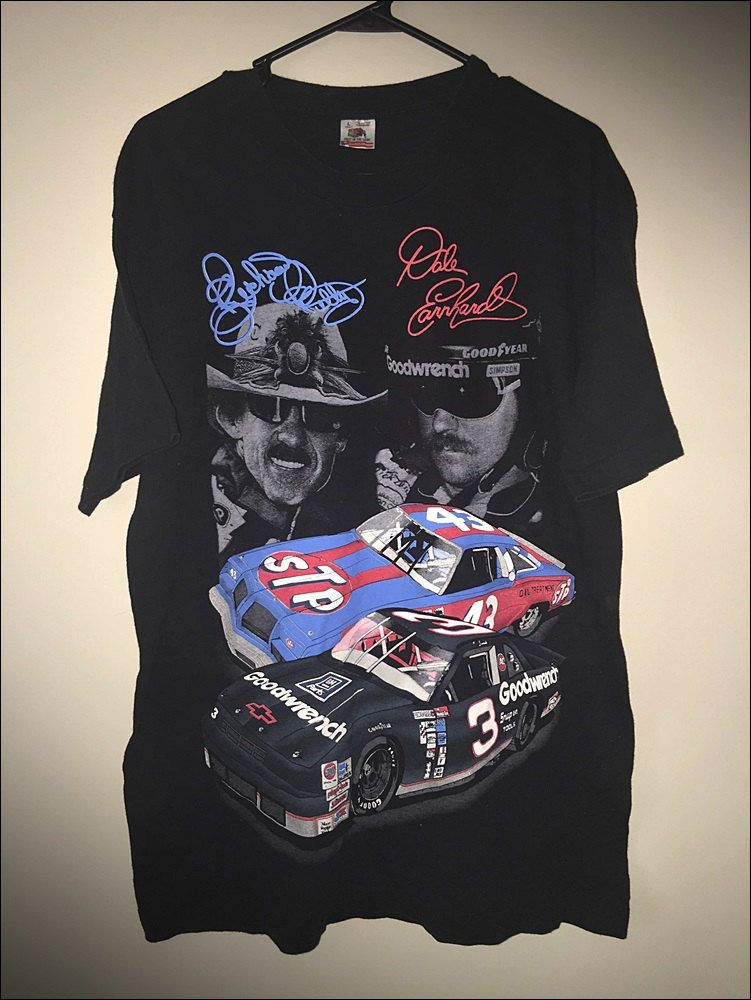 vintage 90 s nascar petty vs earnhardt 7 time winston cup champions
