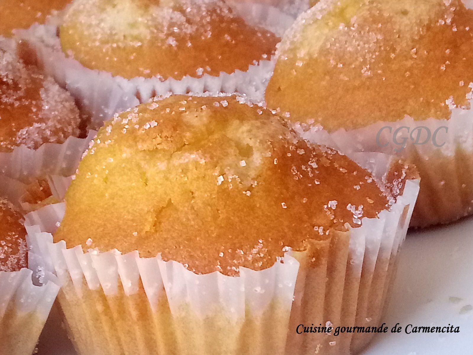Magdalena ou Madeleine espagnole au citron et vanille - Cuisine gourmande de Carmencita