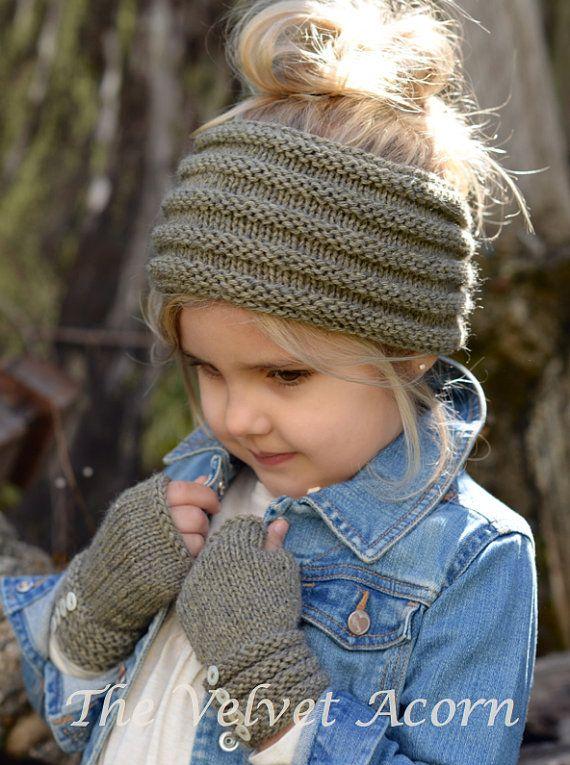 Knitting Pattern The Ridgelyn Set Toddler Child Adult Sizes