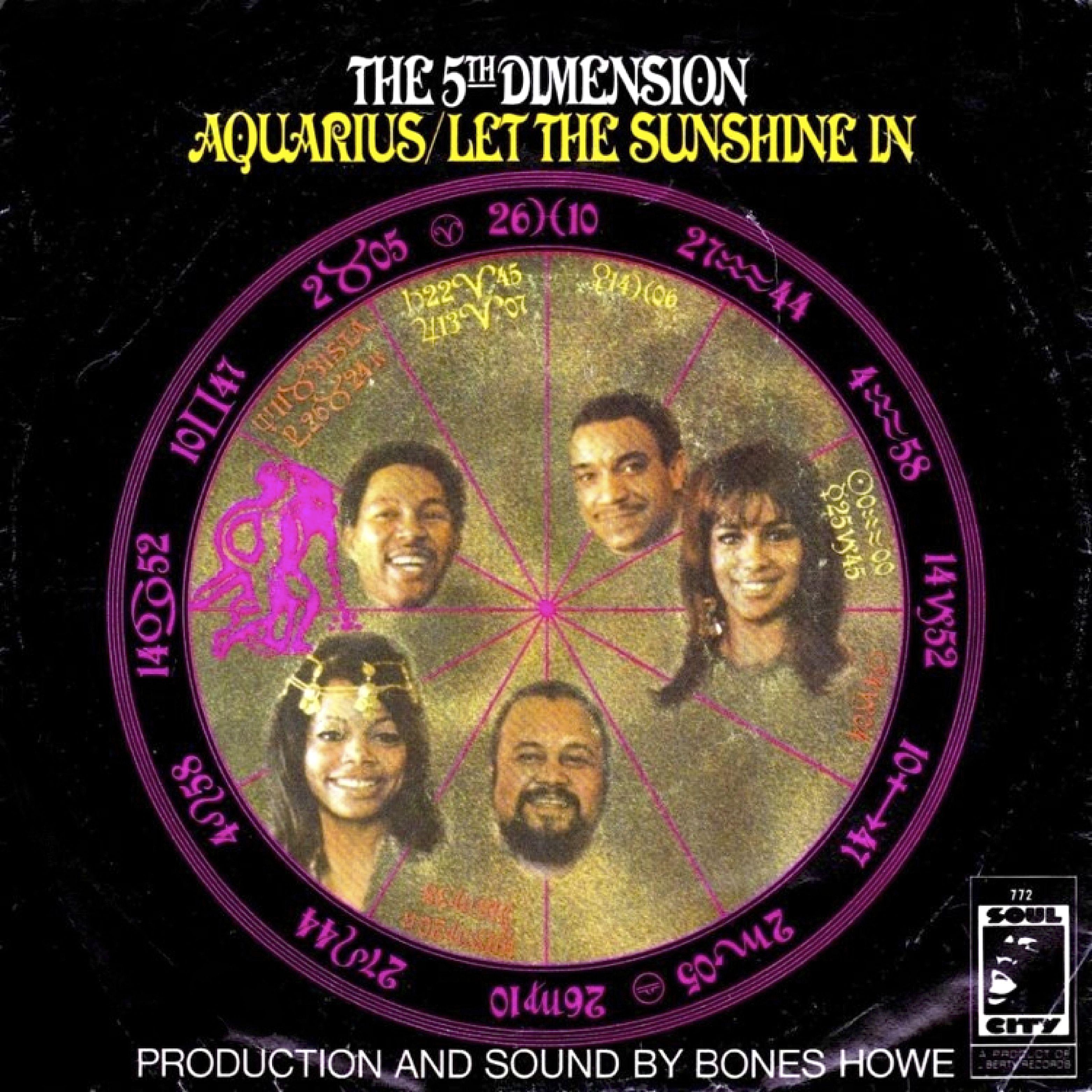 Single Van De Week The 5th Dimension Aquarius Let The
