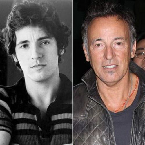 bruce springsteen then and now