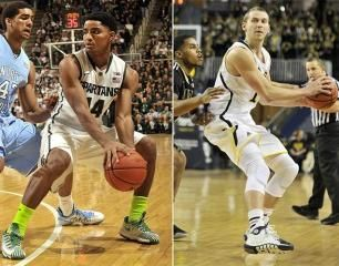 SI Mock NBA Draft Sees Michigan State and Michigan Receive 2 and 3 Slots Respectively