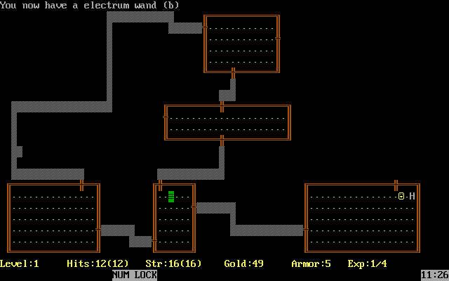 Download Rogue rpg for DOS (1983) - Abandonware DOS | old