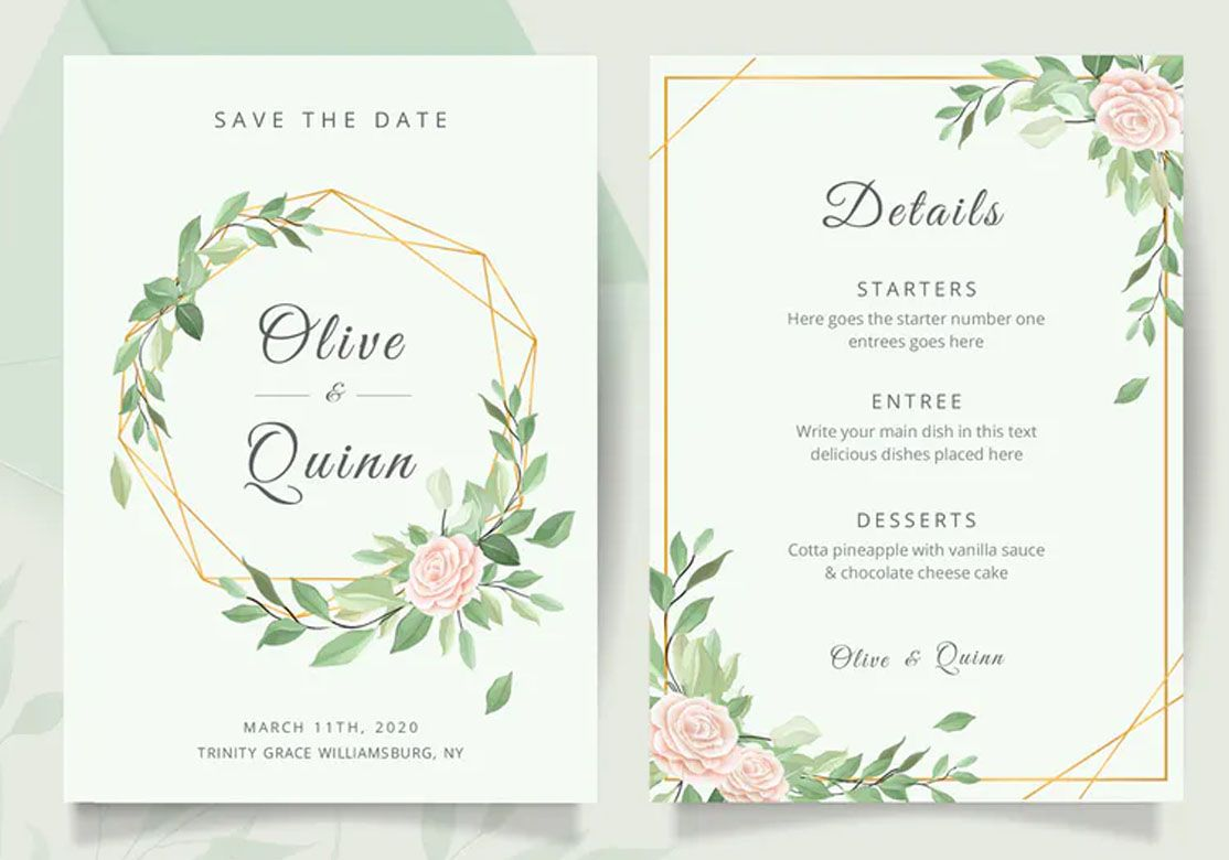 Wedding Invitation Card Template Wedding Invitation Card Template Wedding Invitation Cards Wedding Invitations
