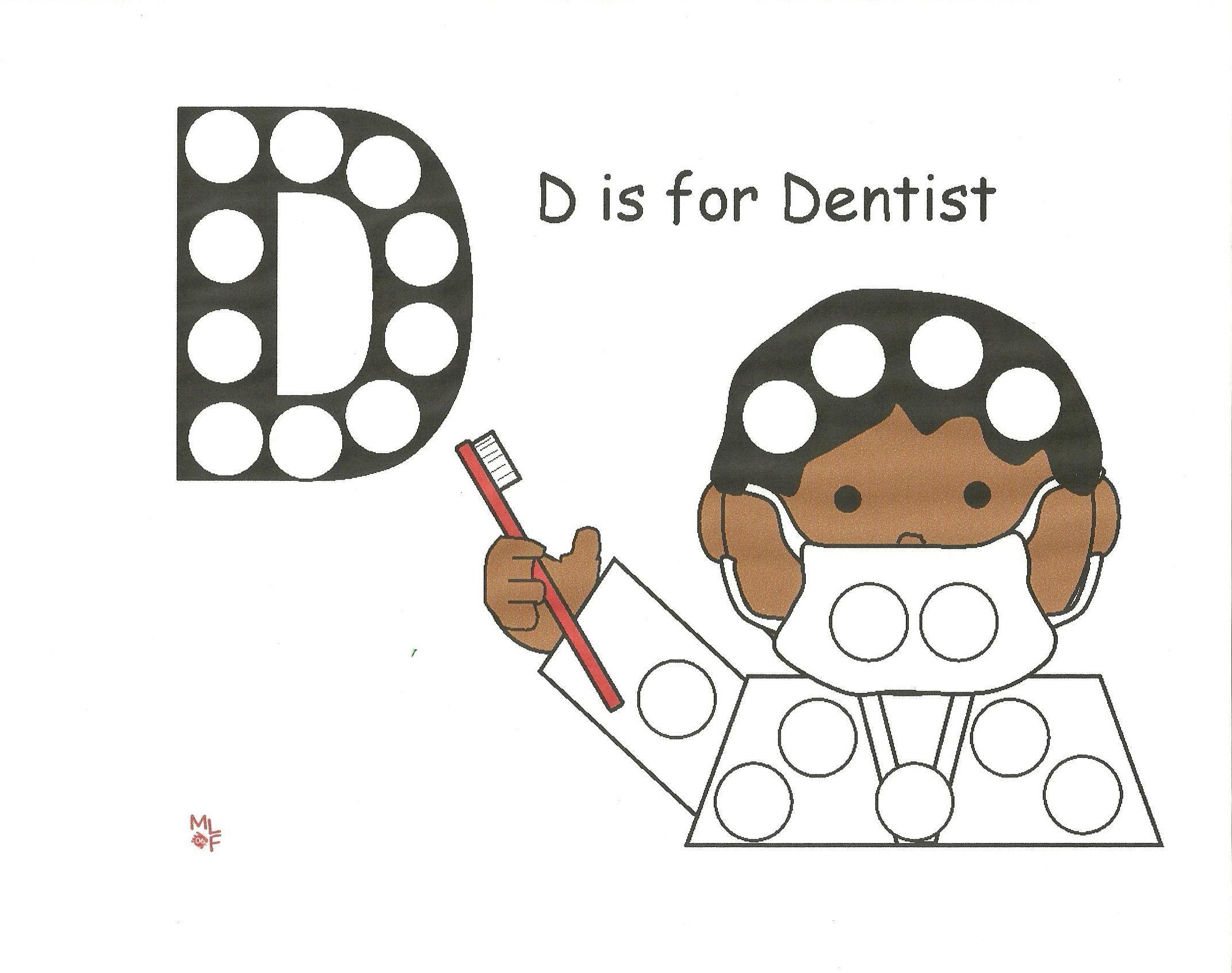 Dentist Dot Activity Dental Health Preschool Dentist Crafts Dental Health Activities [ 1692 x 2142 Pixel ]