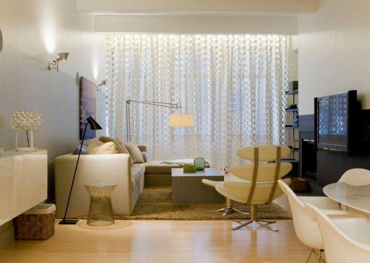 Wohnzimmer Gardinen Und Vorhange 26 Ideen Fur Unterschiedliche