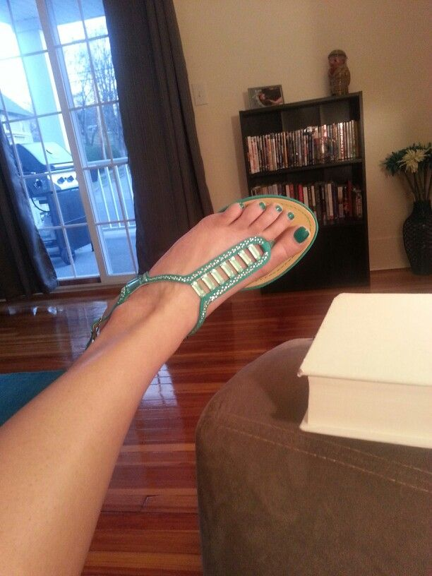 Turquoise sandals dsw
