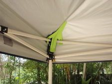 GAZEBO ROOF SAVERS Stop Water Ponding On Marquee Canopy Suit Oztrail And  Others