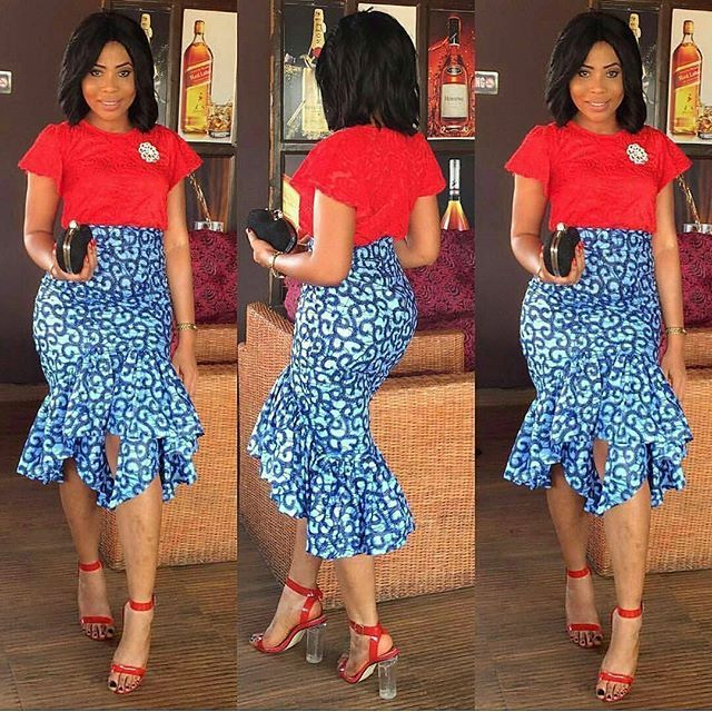 2017 Ankara And Lace Styles For The Beautiful Ladies